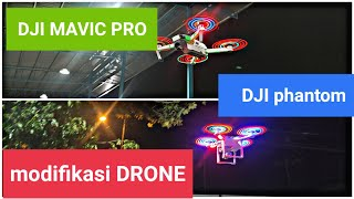 Dji mavic pro and Dji phantom 3 pro modifikasi#modification#drone#shorts