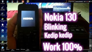 NOKIA 130 KEYPAD BLINKING SOLUTION 100%% DONE TRY IT NOW - Most