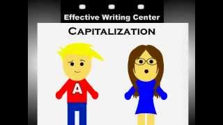 Capitalization Rules for English: Basic Guide to Capital Letters