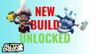 NEW BUILD UNLOCKED! | 6 HUNTER 4 GLACIER 2 WIZARD | AUTO CHESS MOBILE