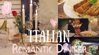 Romantic Dinner At Home - Lemon Truffle Alfredo  Pasta MissLizHeart