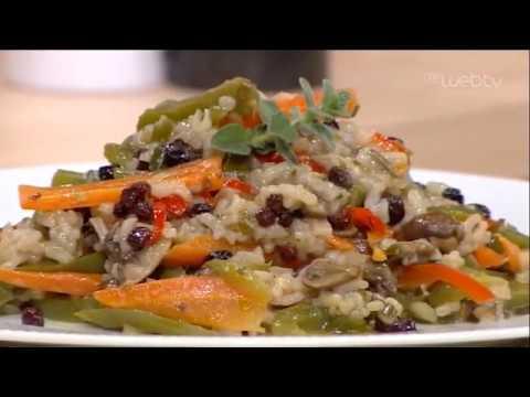 «ΠΟΠ Μαγειρική»   Ρύζι με λαχανικά και Σταφίδες Ηλείας
