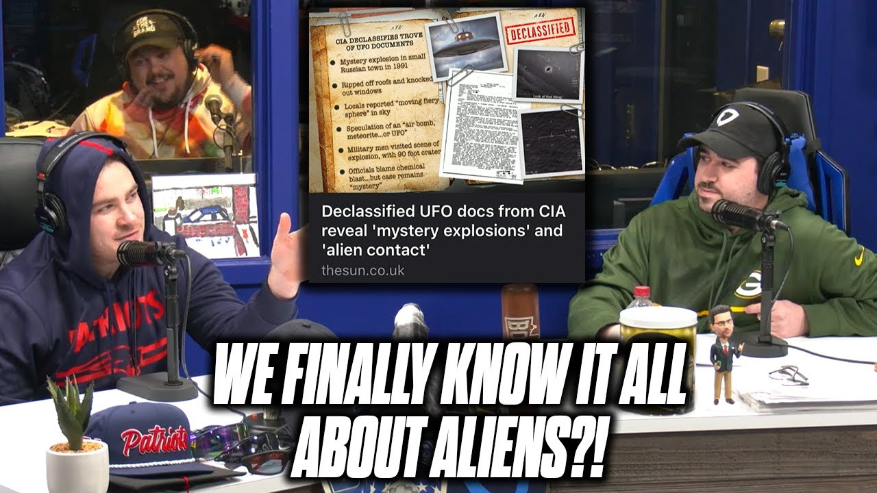 The CIA Has Declassified All Of Their Alien Files?!