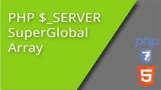 PHP $_SERVER SuperGlobal Array
