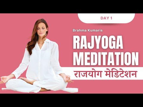 Day  01 | Rajyoga Meditation Course | BK ️Shalu | Brahma Kumaris Jagdamba Bhawan #whoami #soul