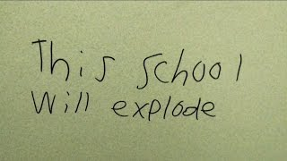 Student confesses to writing bomb threat in bathroom at Grafton middle school