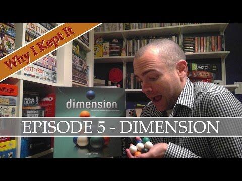 Why I Kept It - Episode 5: Dimension