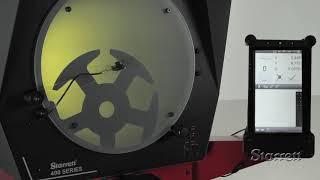 Οπτικό Σύστημα Projector HE400 STARRETT