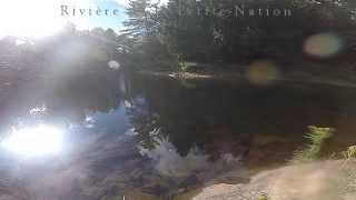 preview picture of video 'Rivière Petite Nation Sept 2014'