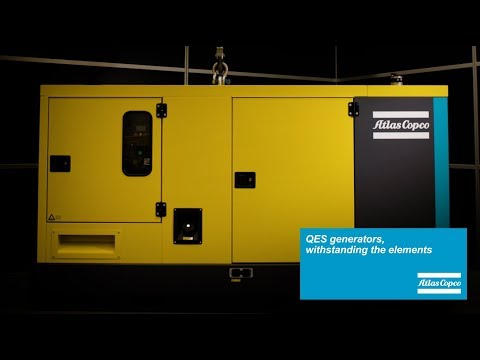 Diesel Power Generators for construction site and rental industries Atlas Copco - zdjęcie