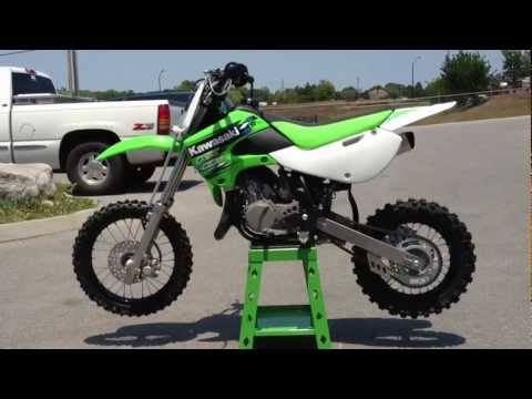 2013 Kawasaki KX65 in Lime Green   2013 Kawasaki Monster Energy KX 65 at Tommy's Motorsports