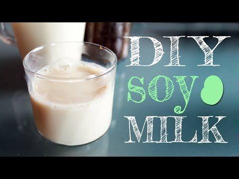 Πως να φτιάξετε γάλα σόγιας εύκολα στο σπίτι