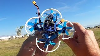 GoolRC G85 Brushless Micro FPV Racer Drone Flight Test Review