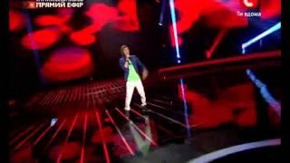 Ринат Бибиков - In The Club ( Danny Saucedo ) ШОУ Х ФАКТОР