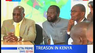 Treason cases in the country with some resulting in death