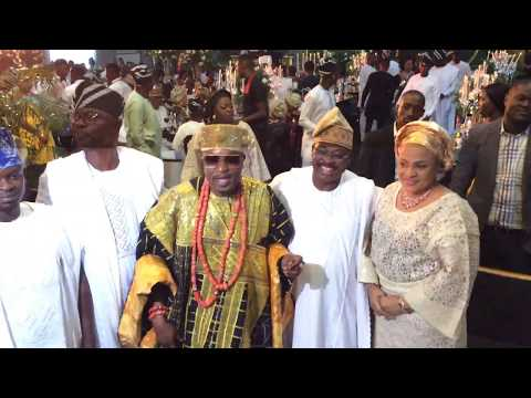 Oluwo of Iwo and Ex-Gov Ajumobi Caught Gossiping On Camera