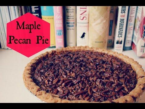 Maple Pecan Pie| Lilybelle Morris