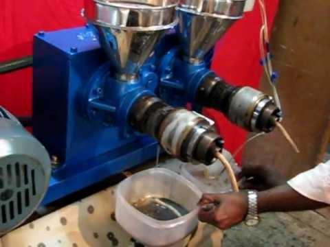Double Screw Oil Expeller - Komet Type