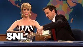 Weekend Update: Barbie on  Her 50th Birthday - SNL