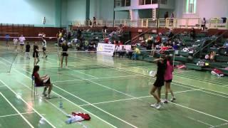 preview picture of video 'Silesia Cup - Głubczyce - 4hra U15 - Tereza Švábiková, Pavlína Krpatová'