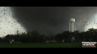 Town gets hit by monster tornado! Twin Tornadoes!