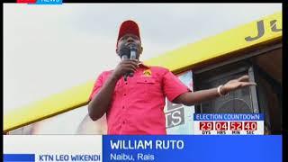 Kampeni za Jubilee : William Ruto adai njama ya NASA kupindua serikali