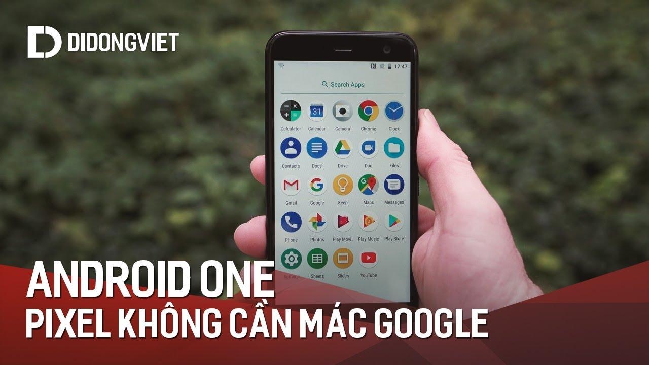 Android One: Đường dây Pixel không cần đóng mác Google?