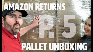 Liquidation Unboxing / Amazon Customer Return Pallets / The Family Flips