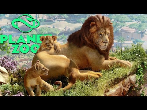 Planet Zoo Beta Gameplay Part 1 - Conquering Franchise Mode, Our First Successful Zoo!