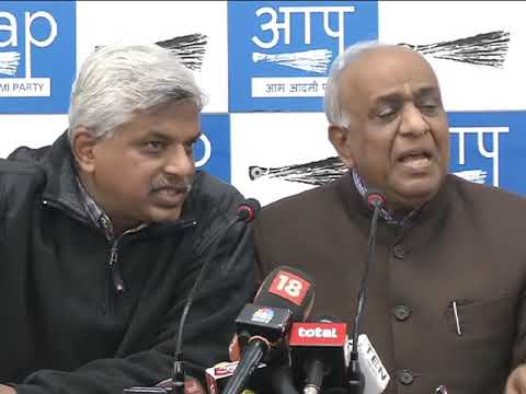 Aap Press Brief on CBDT Notice Issue