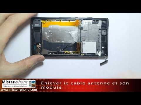 comment ouvrir sony xperia ion