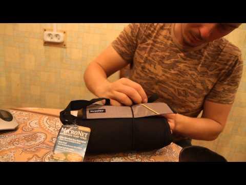 Полотенце махровое XL. Видеообзор.