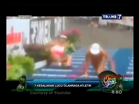 Video On The Spot - 7 Kesalahan Lucu Olahraga Atletik