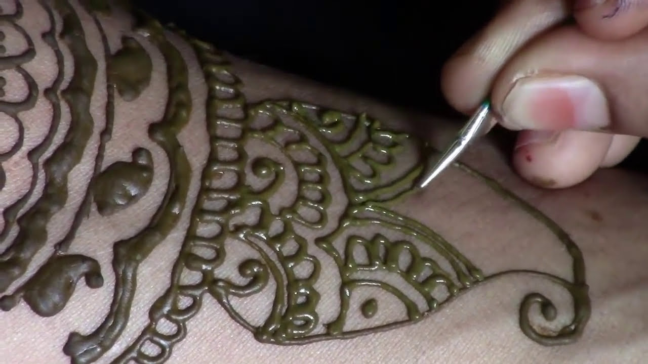 traditional indian mehndi design step by step tutorial by women's hub