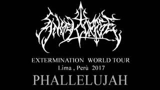 Angelcorpse live 2017 - PHALLELUJAH- Lima ,Perù