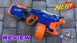 Gambar cover [REVIEW] Nerf Elite Hyperfire Unboxing, Review, & Firing Test