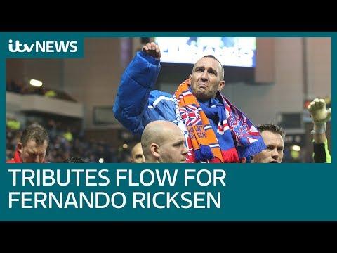 Fernando Ricksen dies after battle with motor neurone disease | ITV News
