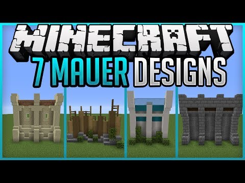7 Simple Wall Designs Minecraft Map