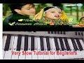 Chudi Maza na degi kangan Maza na dega|keyboard tutorial|Harmonium|Tone|Piano|Sanam bewafa