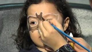 Maquillaje de fantasía de Batman
