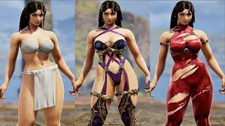 soul calibur 6 character creation female body - मुफ्त