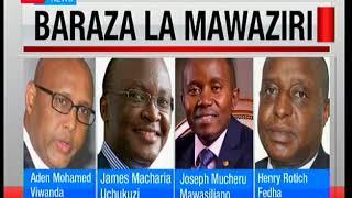 Orodha ya mawaziri wapya walipteuliwa na rais Uhuru Kenyatta