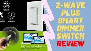 Ge Smart Home Automation Switch Review  | Z Wave Wireless Switch Review