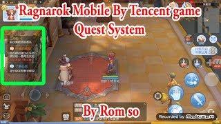 Ragnarok Mobile By Tencent : First Test [ Prontera ontour ] - hmong