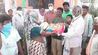 Covid 19 - Distributed dry ration to the needy people by Tangivanipeta VT in Spandana News