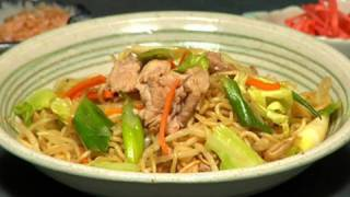 How to Make Yakisoba Noodles (Recipe) | Cooking with Dog