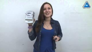Электросчетчик НИК 2102-04 М2В от компании ПКФ «Электромотор» - видео