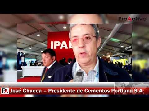 CADE 2017: Entrevista a José Chueca, presidente de Cementos Portland