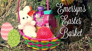 Easter Basket For 1-2 Year Olds!