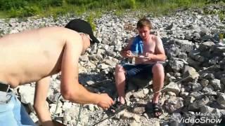 Рыбалка на водном канале в тольятти